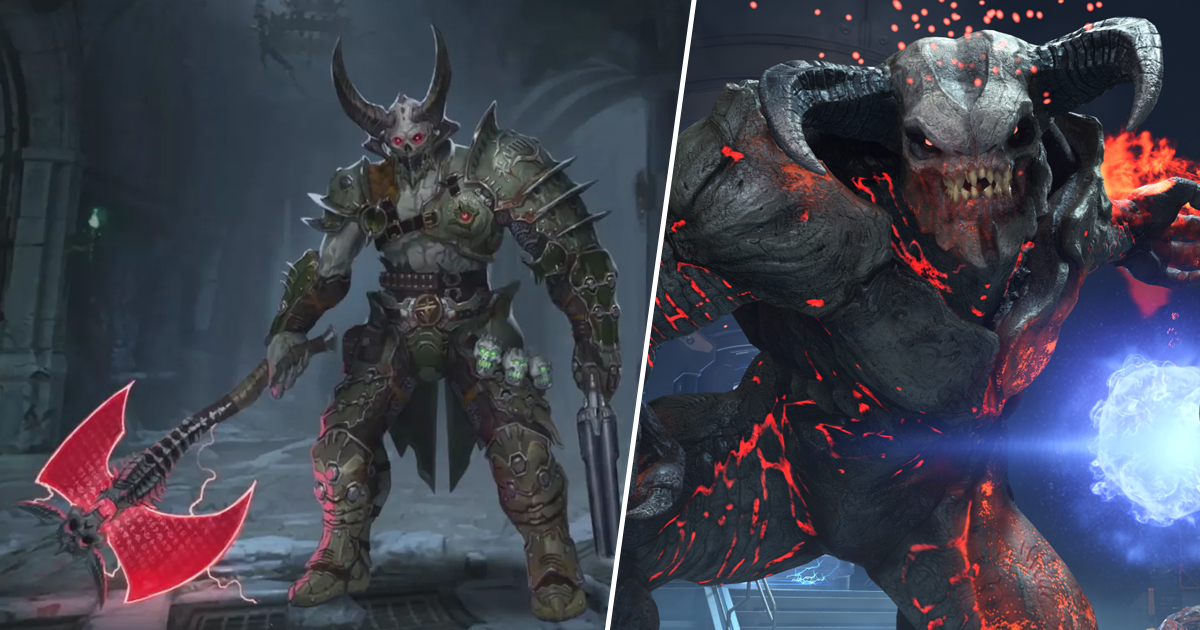DOOM Eternal Gets A Release Date And Has A Level Set In Heaven