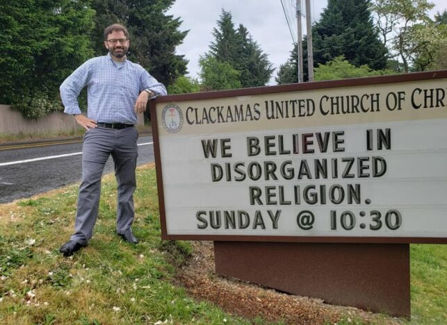 Church goes viral after putting up inclusive signs.