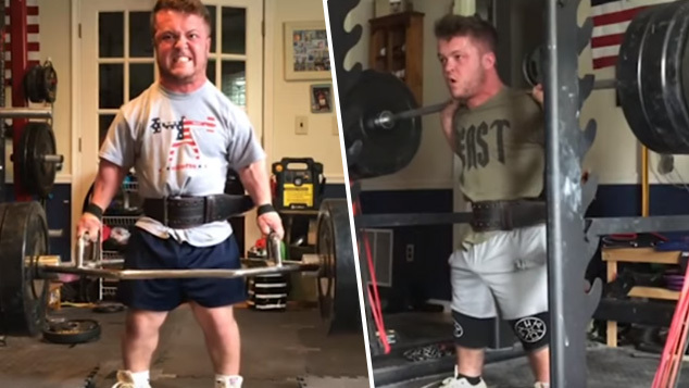 powerlifter with dwarfism