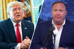 Donald trump alex jones