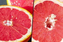 Grapefruit resembles vagina