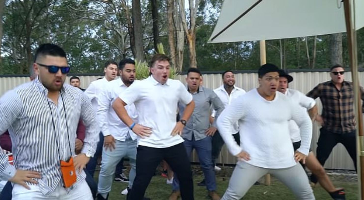 Men perform haka as Woman Marries Love Of Her Life One Day Before He Dies