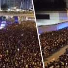 Hong Kong Protesters 'Part Like The Red Sea' To Let Ambulance Through