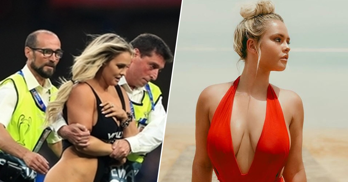 Kinsey Wolanski's Instagram Grew By Two Million Followers After Champions League Final Streak