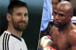 Messi and Mayweather