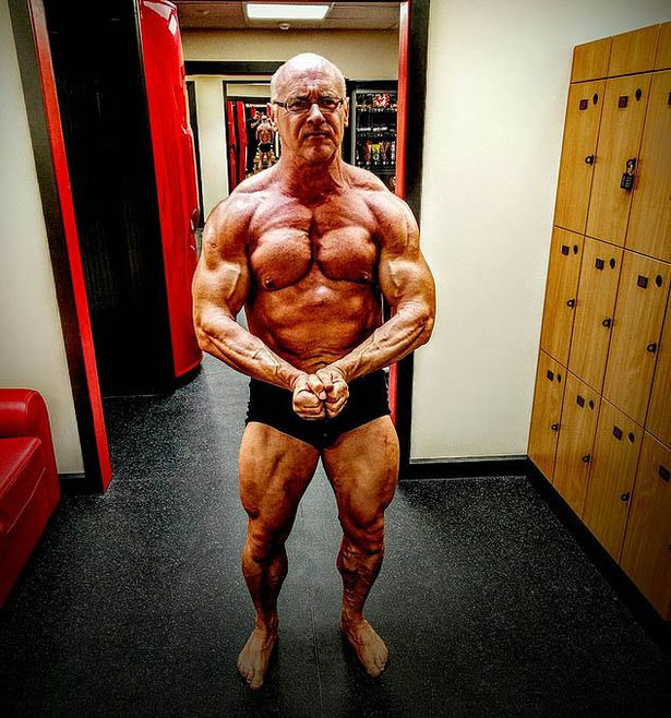 Michael Sanders bodybuilder