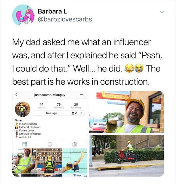 Influencer dad