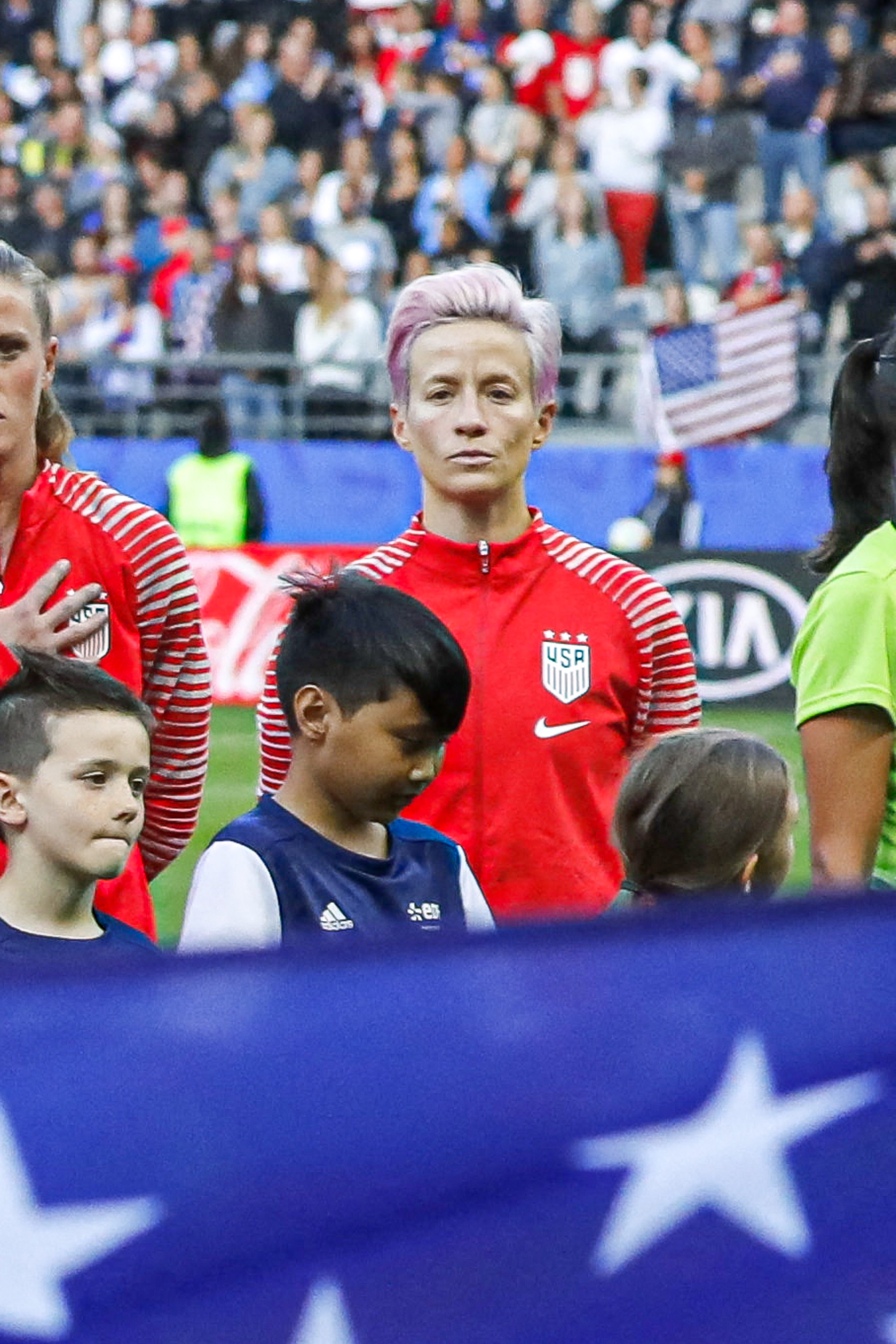 Megan Rapinoe Refuses To Sing National Anthem As 'F*ck You' To Trump