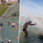 Paris Opens Extra Pools And Mist Machines Ahead Of Extreme Heatwaves