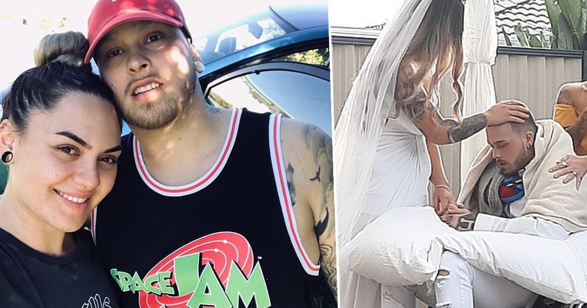 navar herbert marriage Woman Marries Love Of Her Life One Day Before He Dies