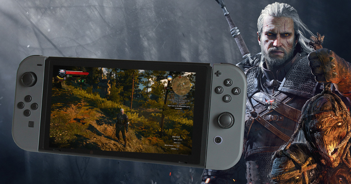 The Witcher 3 Switch Rumours Fueled By Geralt Voice Actor