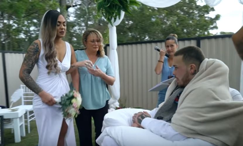 Woman Marries Love Of Her Life One Day Before He Dies