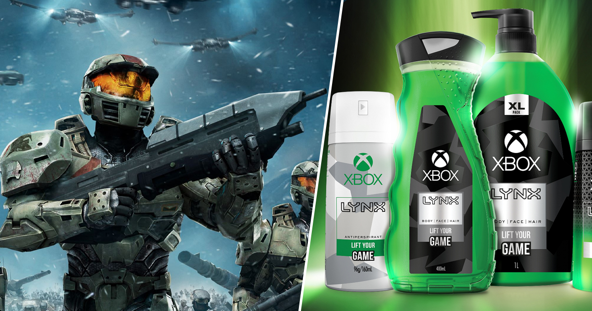 Official Xbox Shower Body Wash Unveiled, For Some Reason