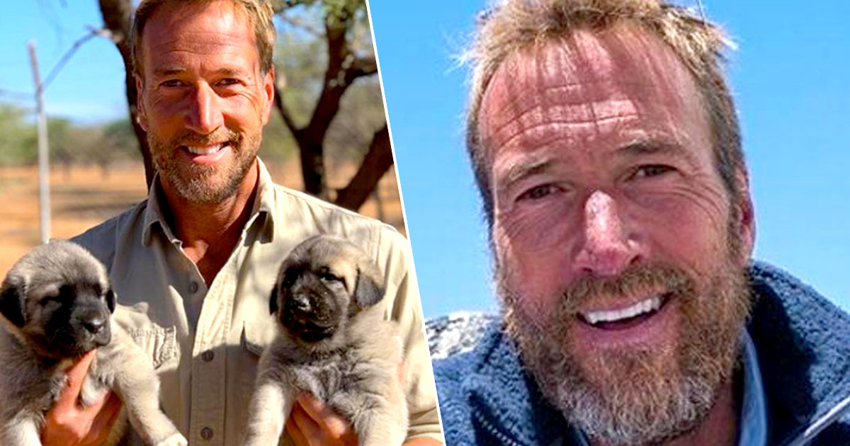 Ben Fogle Donates Entire Salary From Animal Park To Pay Pensioners TV Licences