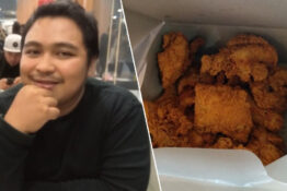 Man buys all the fried chicken to stop woman who called him fat from getting any