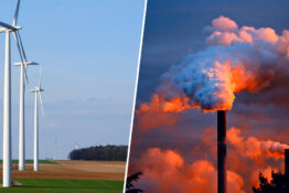 Britain becomes first major nation to introduce net zero greenhouse gas targets.