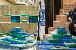 Police Seize $1.1 Billion Worth Of Cocaine In America's Biggest Ever Drug Bust