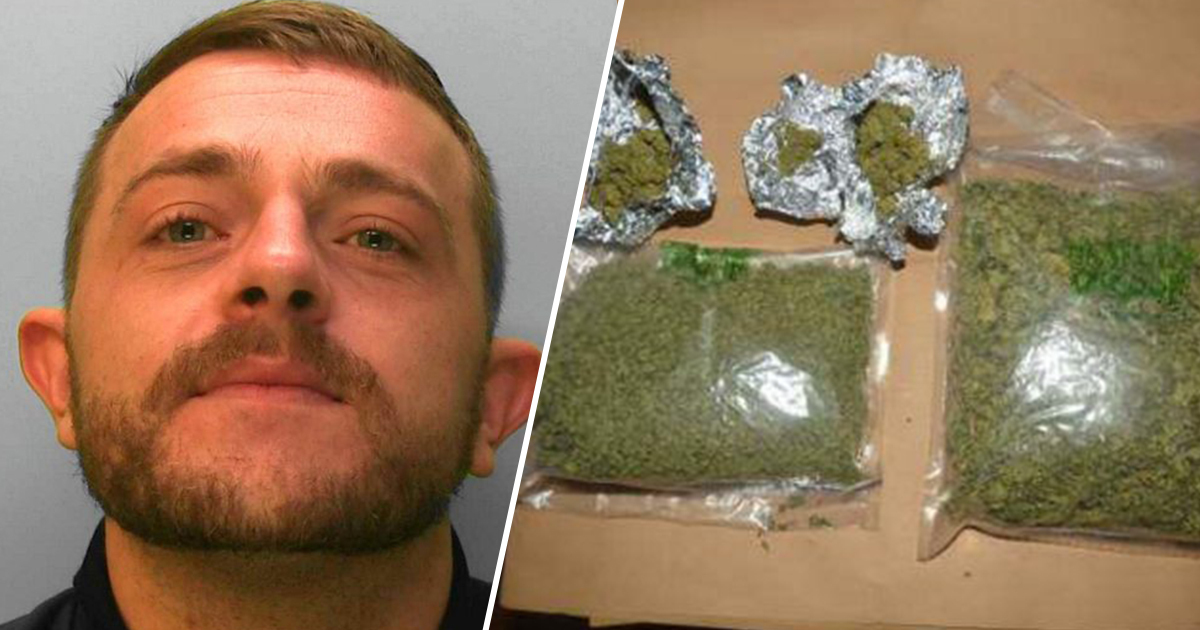 Dealer Caught After Stamping His Own Name On Drugs