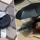 Woman Cleaning Flat Drops Dumbbell Out Of Window And Hits Pedestrian