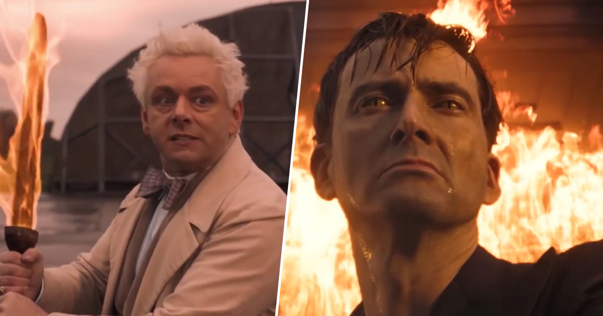 Netflix 'Promise Not To Make Anymore' Episodes Of Good Omens In Response To Petition