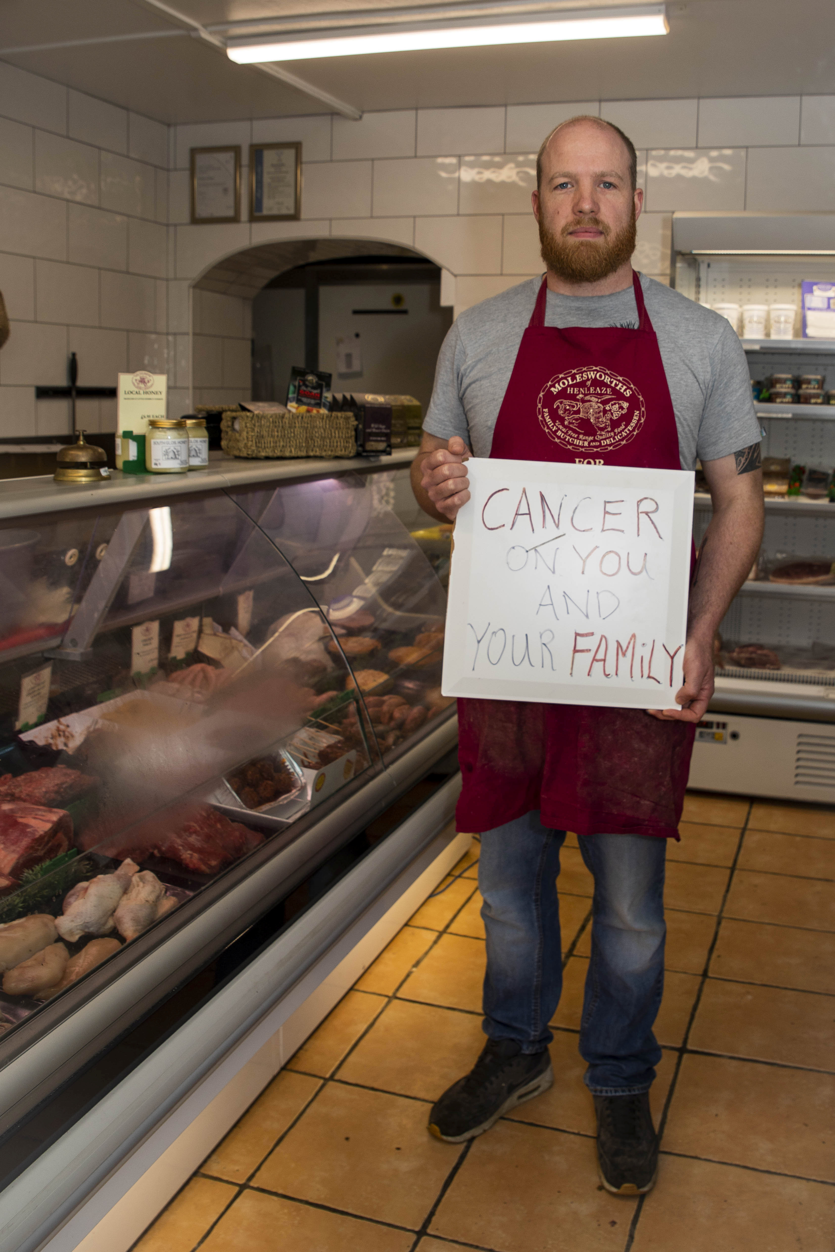 Vegan Protesters Wish Cancer On Butcher's Family