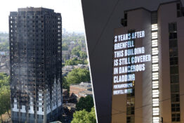 grenfell tower/block in manchester