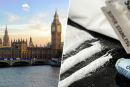 houses of parliament/cocaine