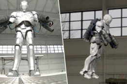 Adam Savage creates real Ironman suit.