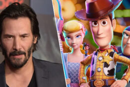 keanu reeves/toy story characters