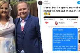 Man to marry woman who roasted him on Tinder