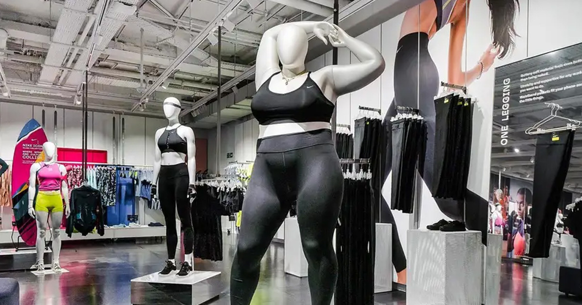 Nike's Flagship Store Is Celebrating All Bodies With Plus-Size Mannequins