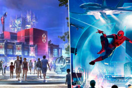 Marvel Land concept art Disneyland
