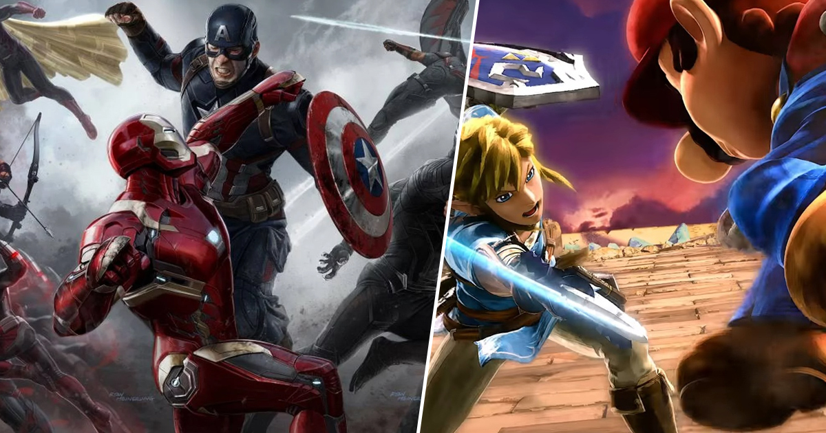 Marvel Boss Wants Super Smash Bros Ultimate Crossover