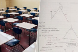 GCSE Maths Student Left 'Distraught' Over Exam Paper Three