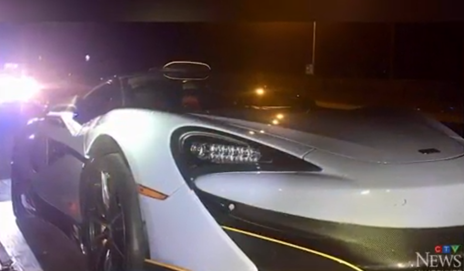 $250,000 McLaren Impounded Ten Minutes After Guy Bought It
