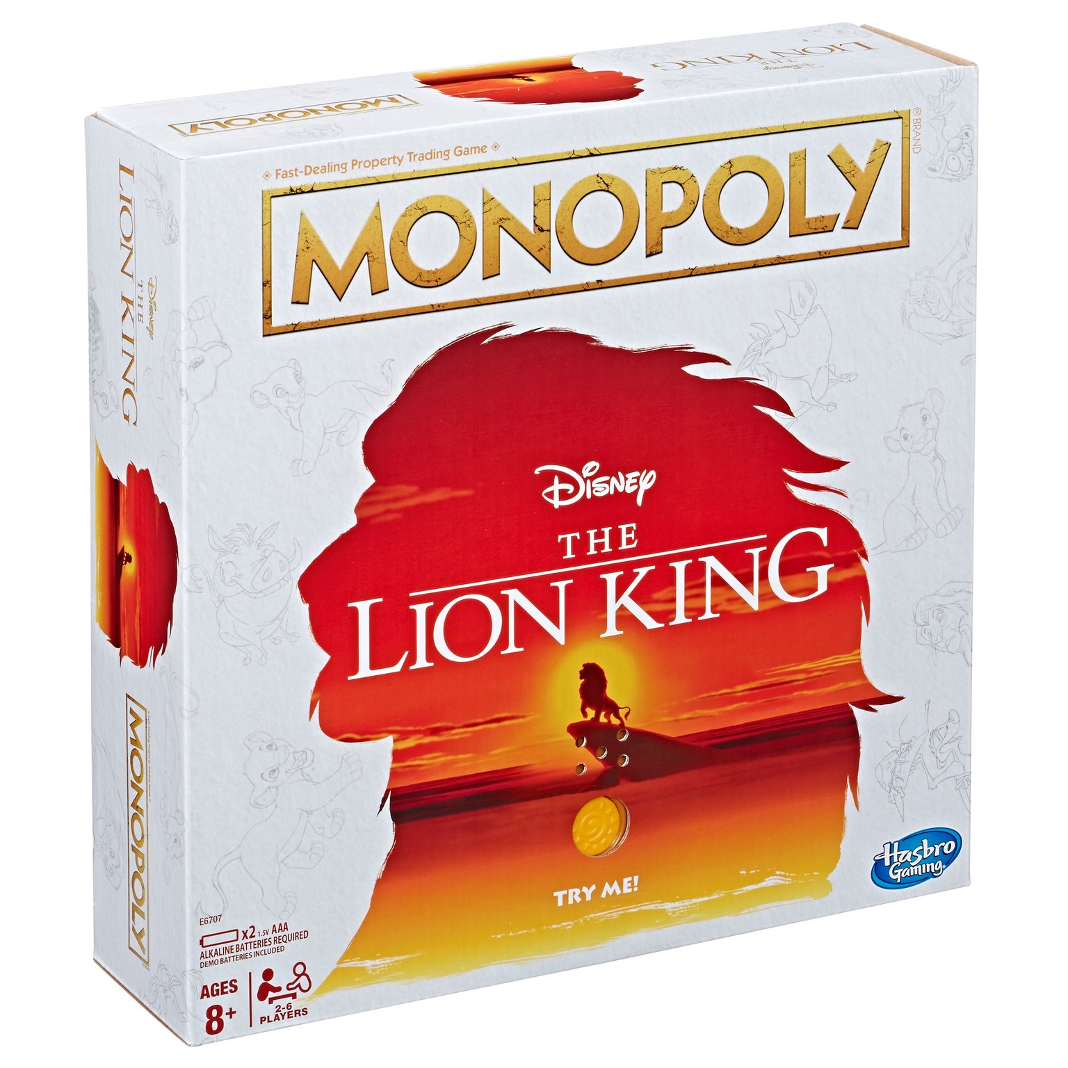 Lion King Monopoly Is Now A Thing You Can Play