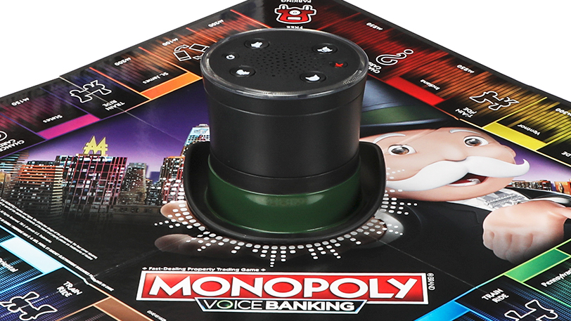 monopoly with voice assistant