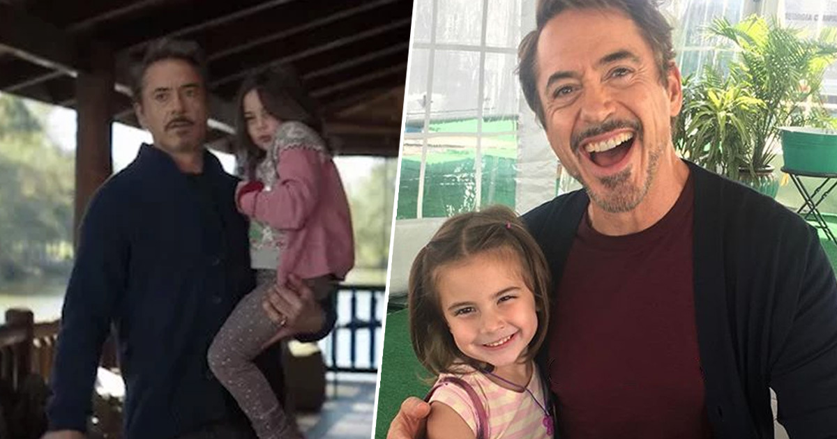 Little Girl Who Played Tony Stark's Daughter In Endgame Opens Up About Bullying