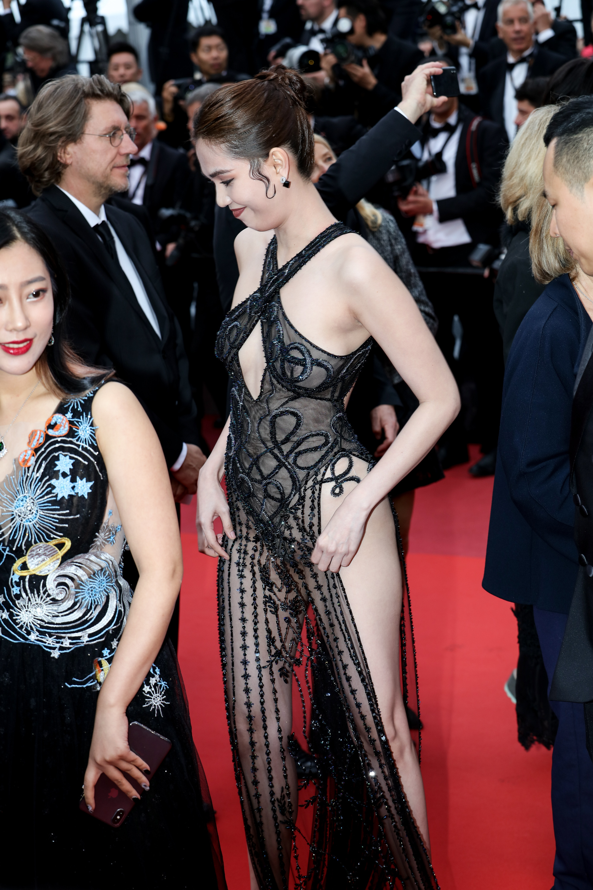 ngoc trinh at cannes film festival