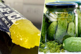 ice pickle/jar of pickles
