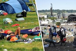 glastonbury plastic pollution