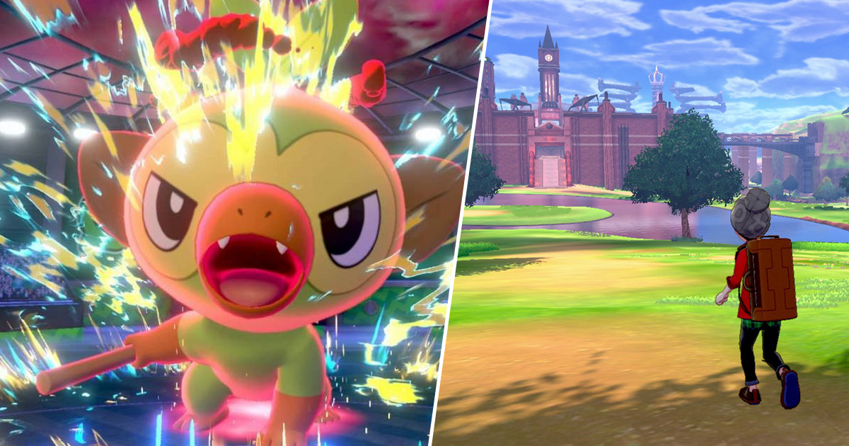 Pokemon Sword Shield Preview I M Officially Sold On Giant Gym Battles