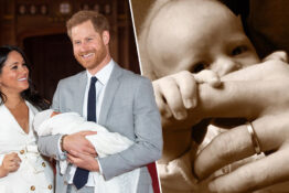 Prince Harry shares Father's Day pic.