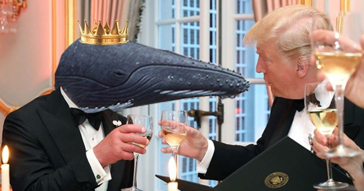 donald trump and the prince of whales