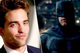 robert pattinson/batman
