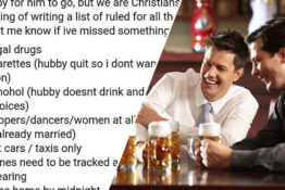 stag do rules list