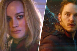 Captain Marvel and Star Lord