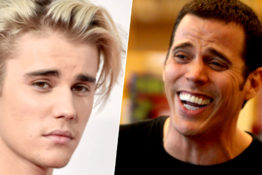 Steve-O challenges Justin Bieber to fight