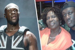 Stormzy gets heartfelt message from mum