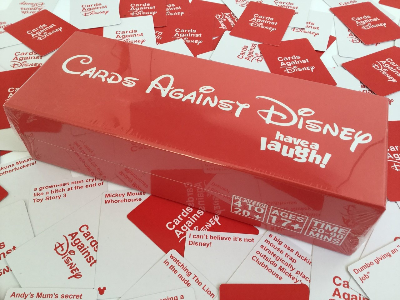 Mum Gets Shock After Buying Cards Against Disney For Family Night